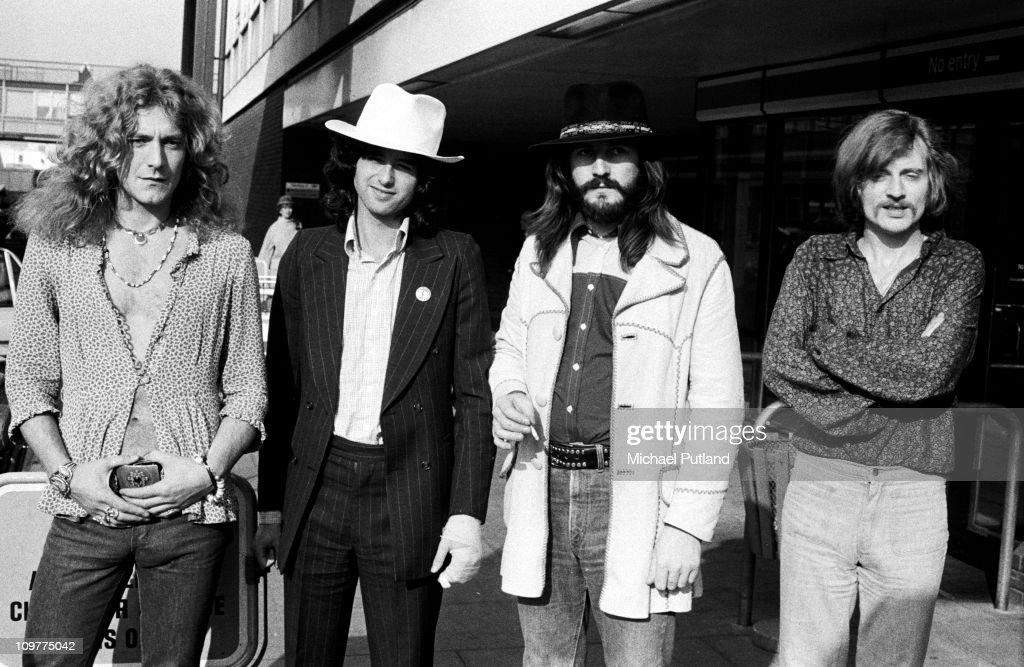 Led Zeppelin Group Portrait : News Photo