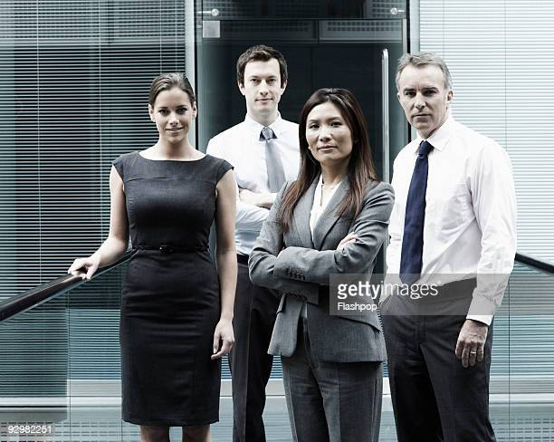 group portrait of business people - formal stock pictures, royalty-free photos & images
