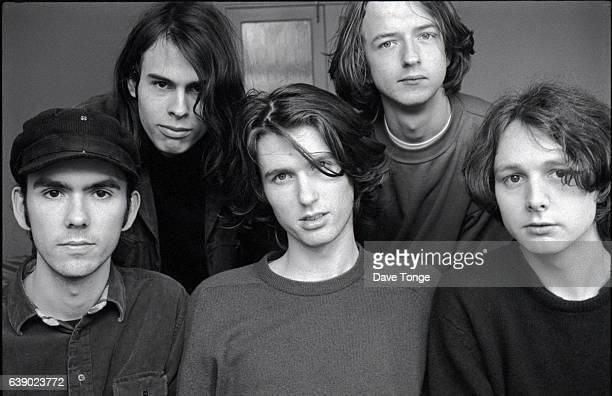 Group portrait of English shoegazer band Chapterhouse United Kingdom circa 1991