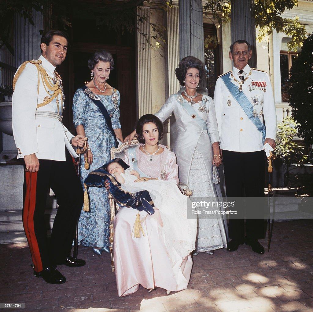 Greek Royal Family : News Photo
