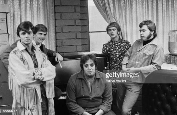 Group portrait of the American psychedelic rock and roll ...