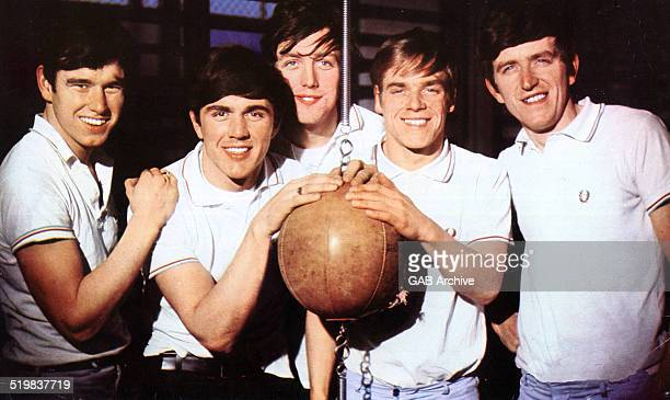 Group portrait of The Dave Clark Five 1964