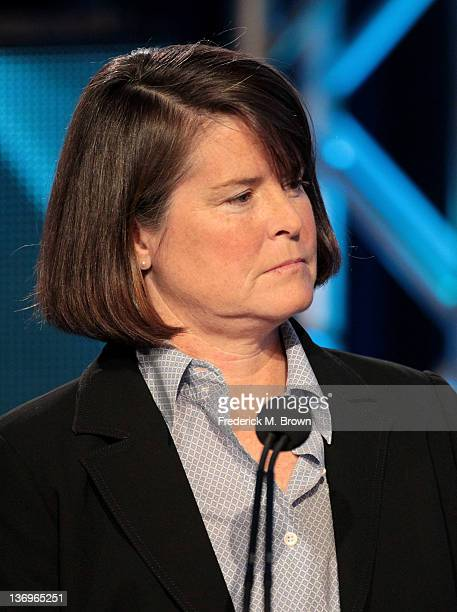 Group President Discovery and TLC Networks Eileen O'Neill speaks during the Discovery Networks portion of the 2012 Television Critics Association...