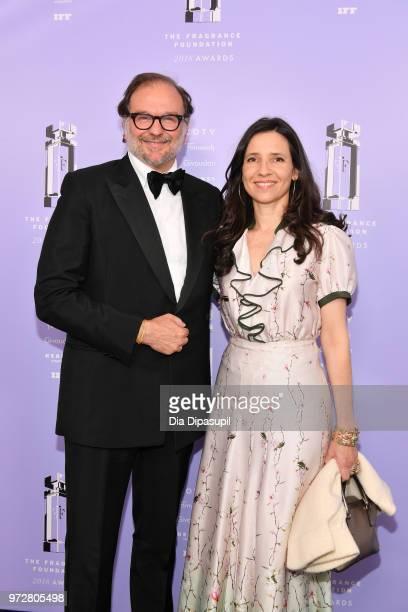Group President, Fragrances, IFF Nicolas Mirzayantz and Nicolas's Wife, Princess Alexandra of Greece Alexandra Mirzayantz attend 2018 Fragrance...