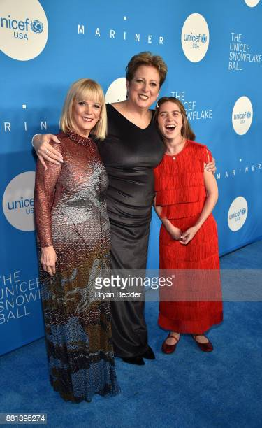 Group President L'Oreal Luxe USA and Spirit of Compassion Award Honoree Carol J Hamilton CEO President UNICEF USA Caryl M Stern and Humanitarian...