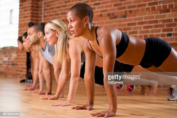 Group Push Ups