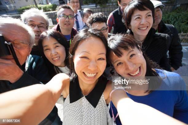グループ写真を - 30 34歳 ストックフォトと画像