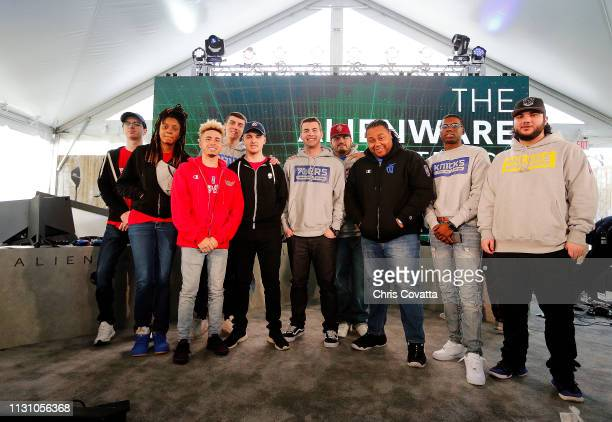 A group shot of the Rookies and Veterans during the SXSW NBA 2K League event on March 16 2019 at the Sunset Room in Austin Texas NOTE TO USER User...
