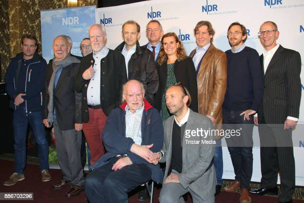 Group shot with Guenter Kuetemeyer Peter Heinrich Brix Guenter Kuetemeyer Axel Olsson Hans Kahlert Uwe Rohde Juergen Uter Sven Walser and Hendrik von...
