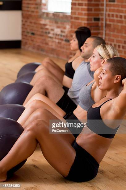 Group Sit Ups