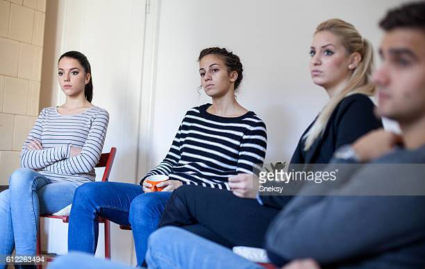 session de Thérapie de groupe
