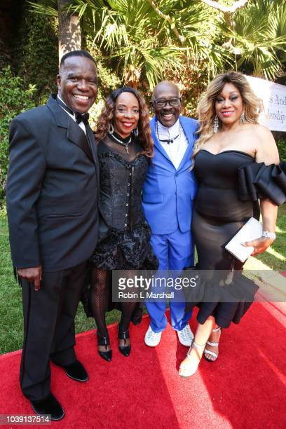 Group Undisputed Truth attend the 29th Annual Heroes And Legends Awards at Beverly Hills Hotel on September 23 2018 in Beverly Hills California