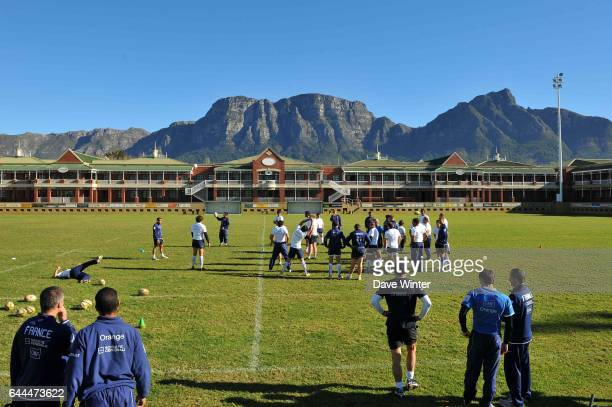 Groupe Entrainement equipe de France Villagers Rugby Club Le Cap Afrique de Sud Photo Dave Winter / Icon Sport