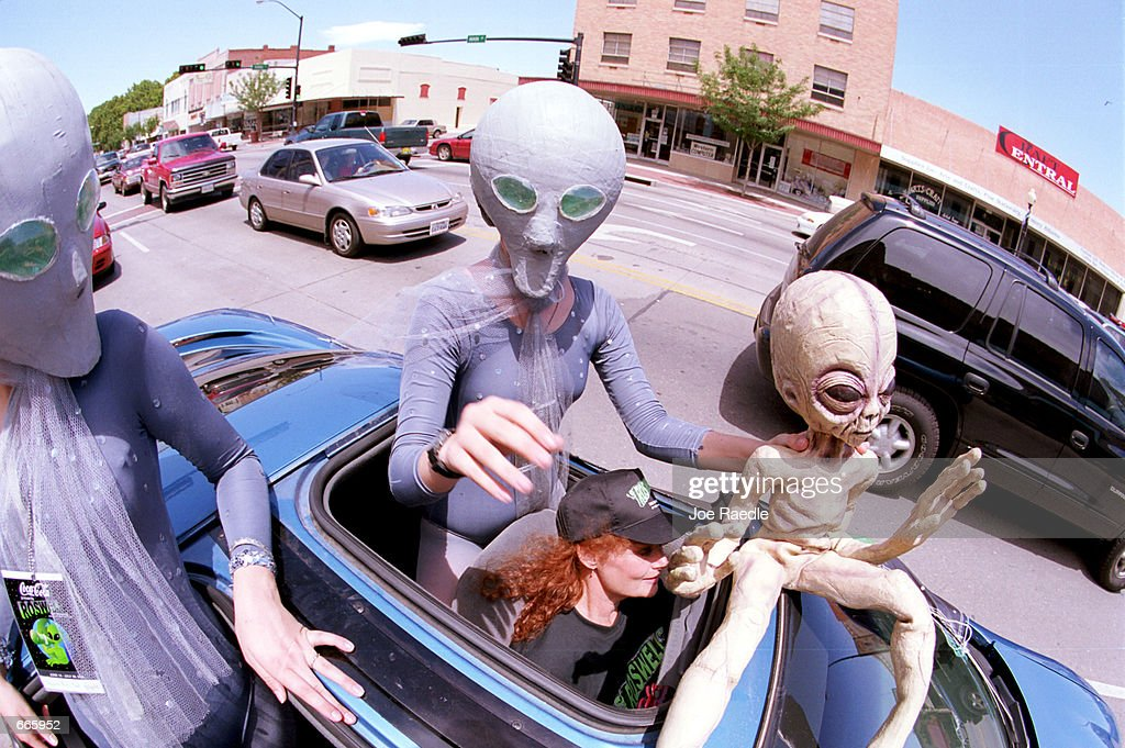 53rd annual UFO Encounter in Roswell, New Mexico : News Photo