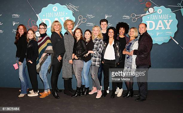 Groupshot of german actors and actresses Maria Fuchs Cheryl Shepard Leonie Landa Lukas Schmidt Louisa von Spies Christin Balogh Bojana Golenac Sanam...