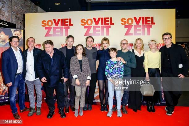 Groupshot with Producer Benjamin Benedict German actor Andre M Hennicke German actor Armin Rohde German actor Matthias Bundschuh German actor Jan...