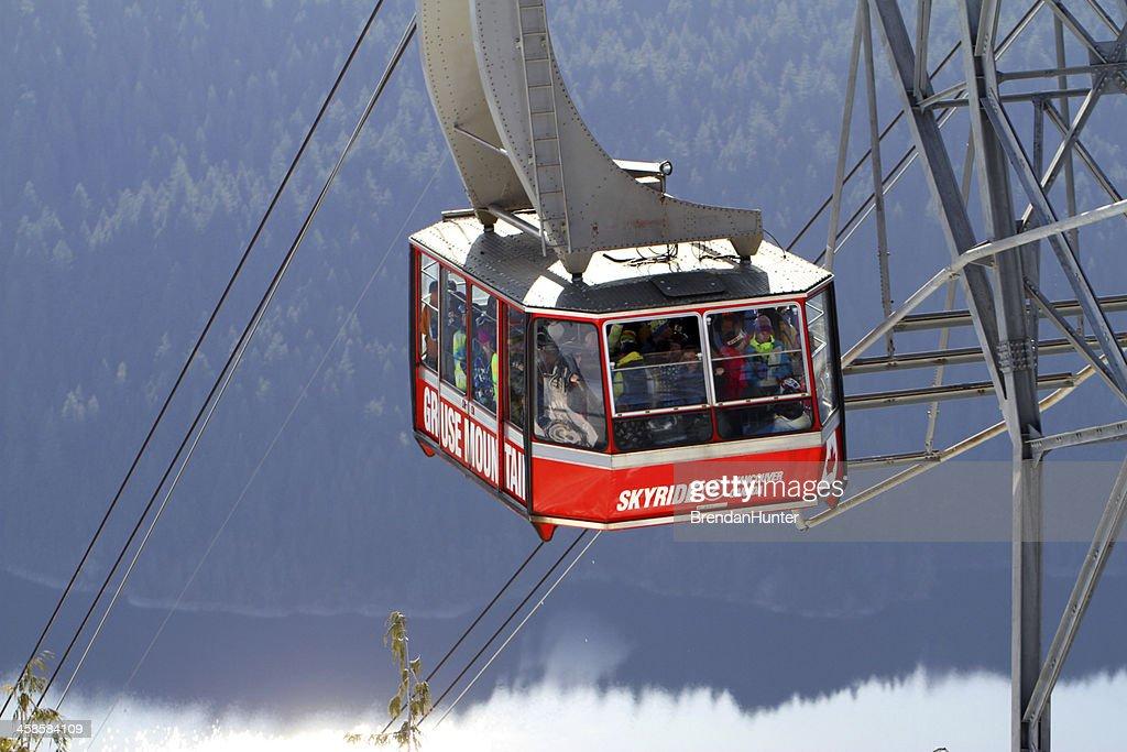 Grouse Mountain Skyride : Stock Photo