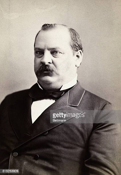 Grover Cleveland 22nd and 24th President of the US Undated photograph