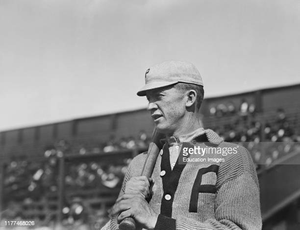 Grover Cleveland Alexander Major League Baseball Player Philadelphia Phillies HalfLength Portrait Bain News Service 1911