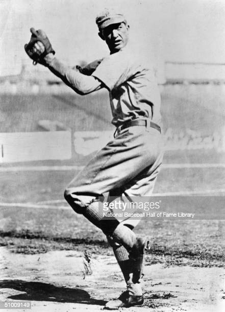 Grover Cleveland Alexander of the Philadelphia Phillies winds up a pitch Ole' Pete played for the Philadelphia Phillies in 19111917 and 1930