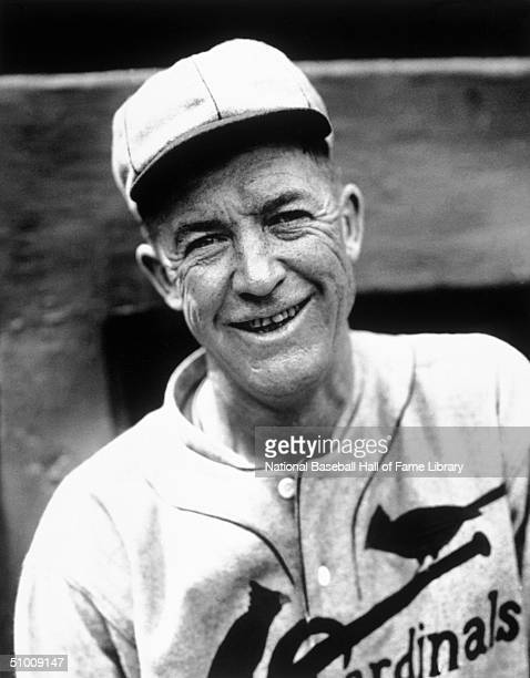Grover Cleveland Alexander of the St Louis Cardinals poses for a portrait Ole' Pete played for the St Louis Cardinals from 19261929