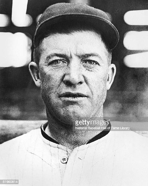 Grover Cleveland Alexander poses for a portrait Alexander played for the Philadelphia Phillies in 191117 the Chicago Cubs in 191826 and the St Louis...