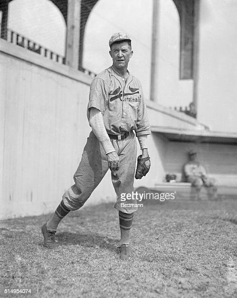 Grover Cleveland Alexander with the St Louis Cardinals at Spring Training in Avon Park Florida