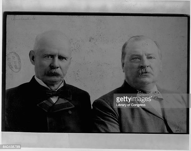 Grover Cleveland and Adlai Ewing Stevenson