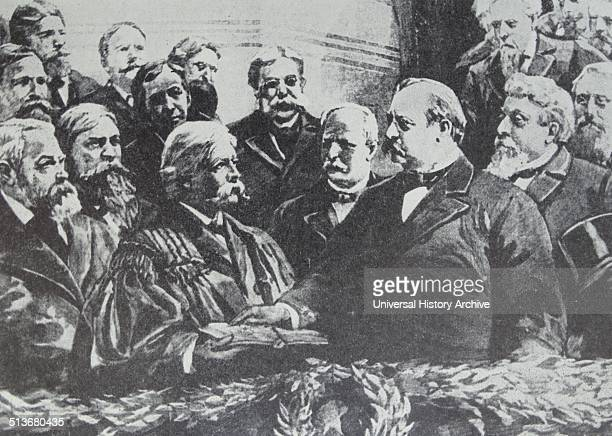 Grover Cleveland in 1893 taking the oath as the 22nd President of the United States He was both 22nd and 24th President and as such he is the only...