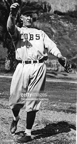 ISLAND CALIFORNIA MARCH 1923 Grover Cleveland Pete Alexander loosens up in March of 1923 at the Chicago Cubs spring training complex on Catalina...