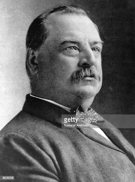 Grover Cleveland twentysecond and twentyfourth President of the United States serving two terms the first from 1885 to 1889 and the second from 1893...