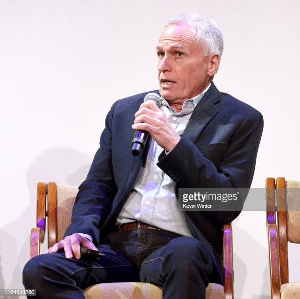 Grover Crisp appears onstage at the HFPA Film Restortion Summit The Global Effort to Preserve Our Film Heritage at The Theatre at Ace Hotel on March...