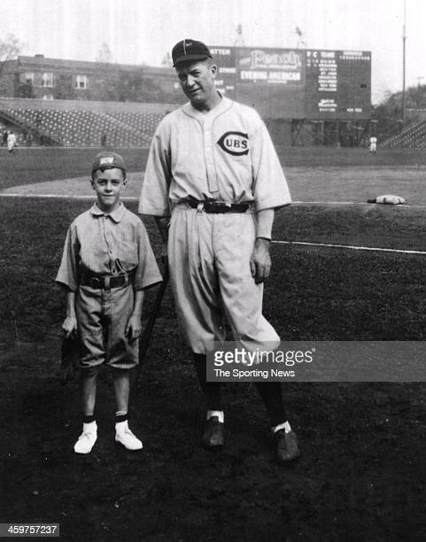 Grover Grover Cleveland Alexander and Ed Taylor Jr circa 1926