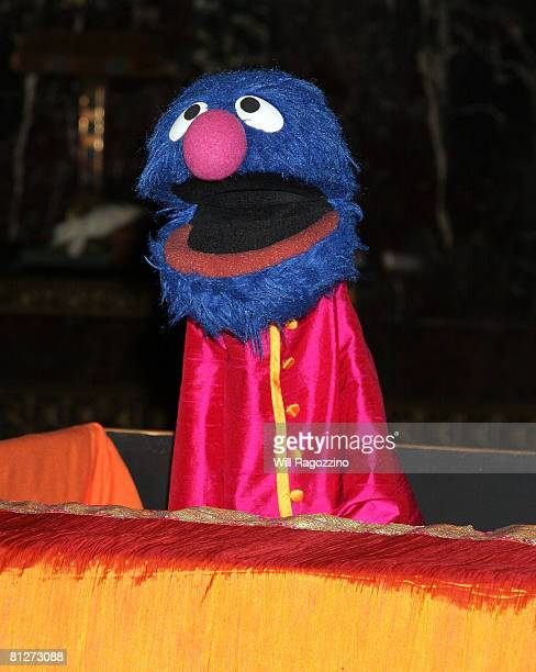 Grover the Muppet attends the 6th Annual Sesame Workshop Benefit Gala at Cipriani 42nd Street on May 28 2008 in New York City