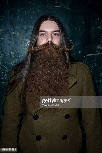 Growing facial hair has become more popular among hipsters in New York Participants at the 2009 New York Beard and Mustache competition