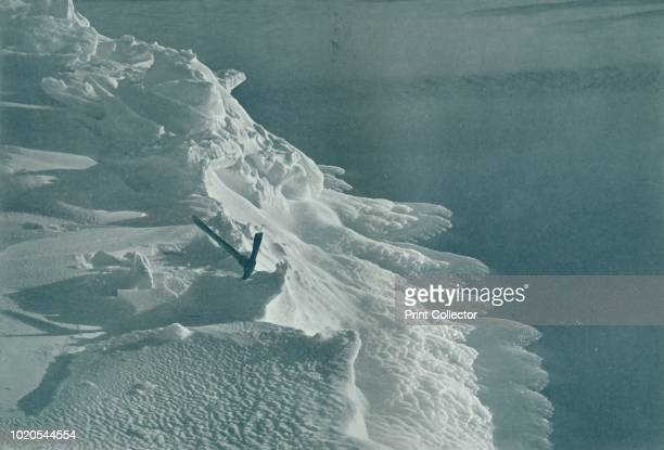 Growing IceFoot Cape Evans' circa 1911 The final expedition of British Antarctic explorer Captain Robert Falcon Scott left London on 1 June 1910...