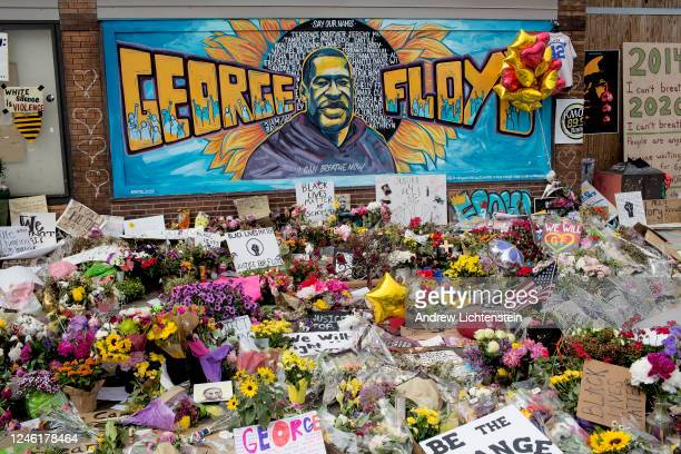 A growing memorial site at the spot where George Floyd was killed by a police officer has become a gathering spot for the Minneapolis community...