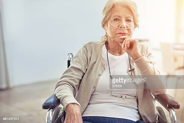 growing old is not for sissies - respiratory machine stock photos and pictures