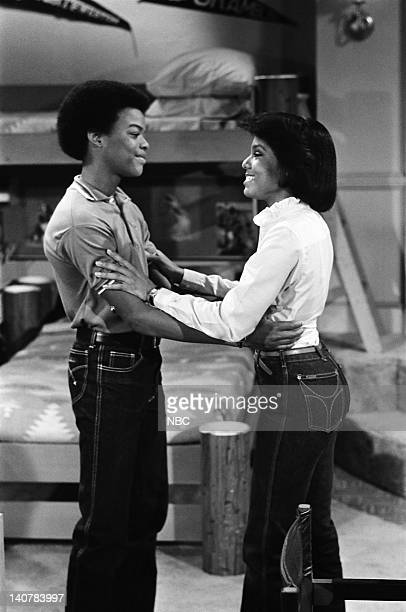RENT STROKES Growing Up Episode 1 Pictured Todd Bridges as Willis Jackson Janet Jackson as Charlene DuPrey Photo by Paul Drinkwater/NBC/NBCU Photo...