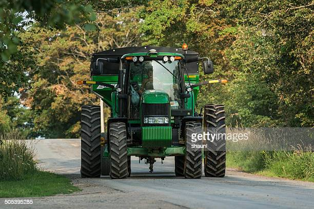 growing up on the farm - john deere tractor stock photos and pictures