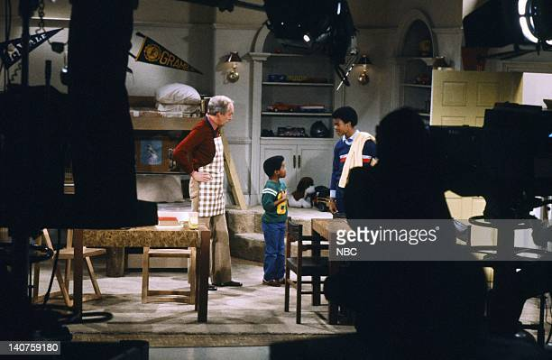 """Growning Up"""" Episode 1 -- Pictured: Conrad Bain as Philip Drummond, Gary Coleman as Arnold Jackson, Todd Bridges as Willis Jackson -- Photo by: Paul..."""