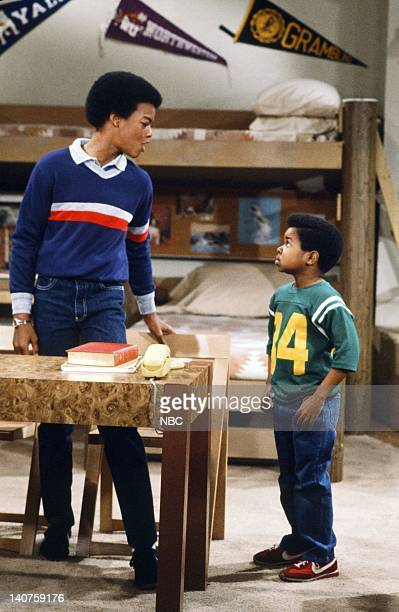 RENT STROKES Growning Up Episode 1 Pictured Todd Bridges as Willis Jackson Gary Coleman as Arnold Jackson Photo by Paul Drinkwater/NBC/NBCU Photo Bank