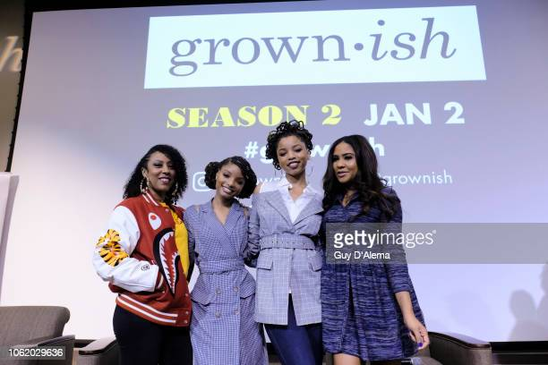 ISH grownish fans from Atlanta GA were treated to a special Sunday brunch with series stars Chloe and Halle Bailey and executive producer Jennifer...