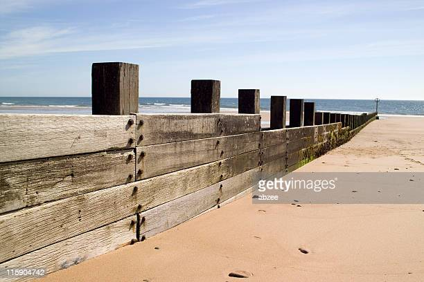 Groynes at Aberdeen Beach