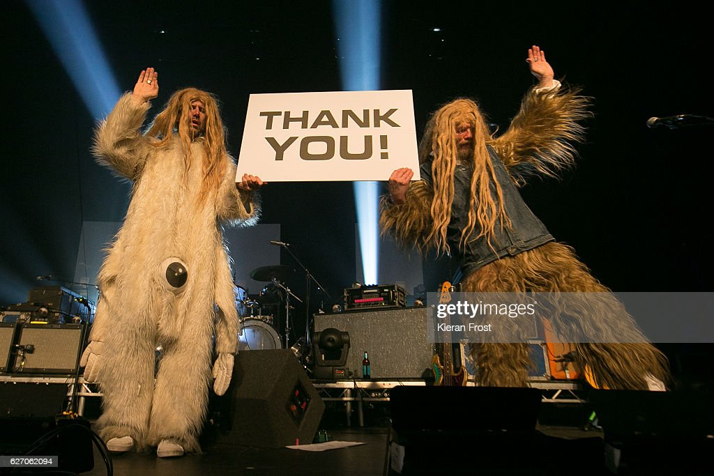 Super Furry Animals Perform At The Olympia Theatre, Dublin : News Photo
