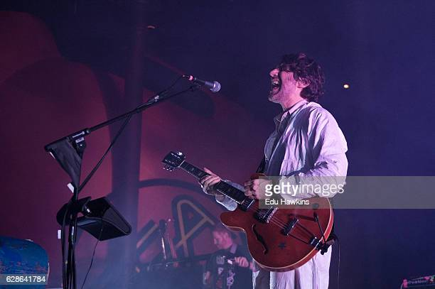 Gruff Rhys of Super Furry Animals performs at The Roundhouse on December 8 2016 in London England