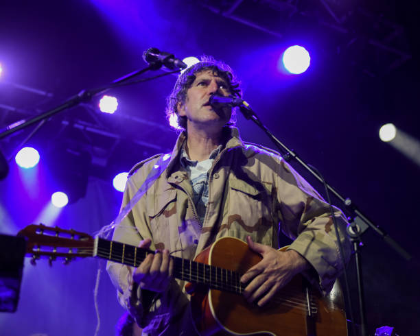 GBR: Gruff Rhys Performs At The Electric Ballroom, London