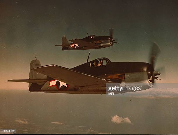 Grumman F6F Hellcats of the American Airforce in WW II Hellcats were developed in direct response to the Japanese Zero