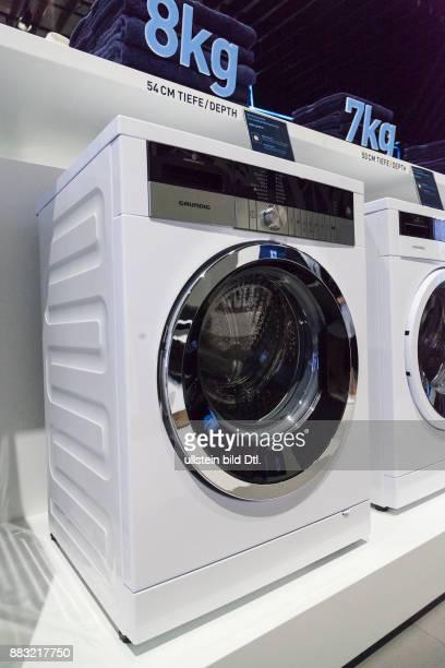 Grundig Waschmaschine auf der IFA 2016