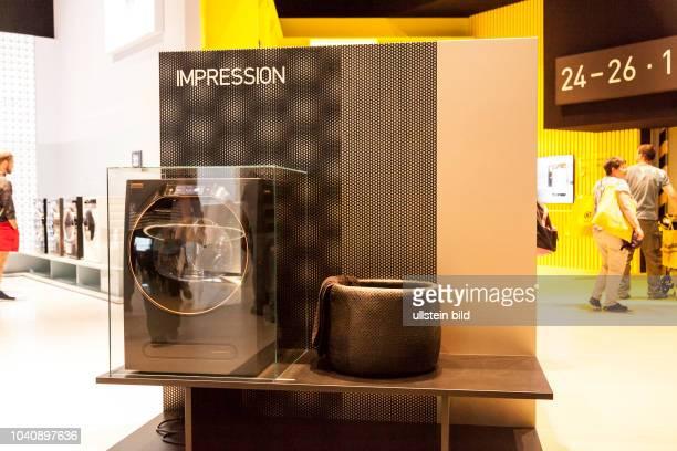 Grundig Waschmaschine Impression auf der IFA in Berlin 2017